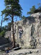 Rock Climbing Photo: A fun arete.
