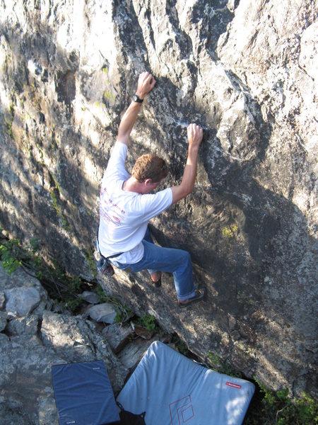 Rock Climbing Photo: Nice black face
