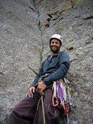 Rock Climbing Photo: At the base of Broken Tree, Devils Tower.