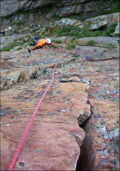 Rock Climbing Photo: Broken Dreams