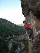 Rock Climbing Photo: Gear everywhere!