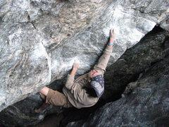 Rock Climbing Photo: Chris Bowen on Autobot.