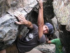 Rock Climbing Photo: Bowen on Revenge.