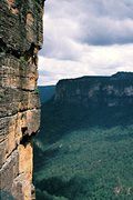 Rock Climbing Photo:  Pitch 5 of Smegadeath (23, 5.11c) Grose valley, B...