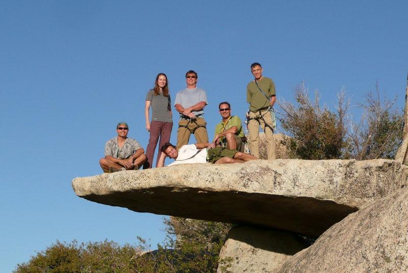 Climbing Friends at McCain Valley, CA