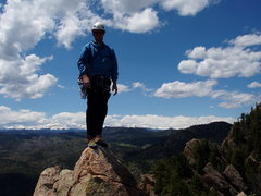 Rock Climbing Photo: Shirt Tail Peak
