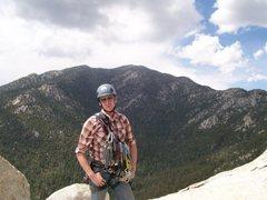 Rock Climbing Photo: Notice how Dan is thoroughly ignoring the precurso...
