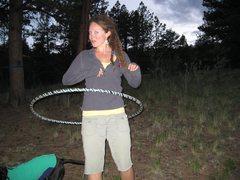 Rock Climbing Photo: My new friend Karen