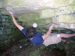 Rock Climbing Photo: stickin the deadpoint