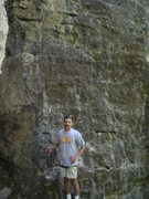 Rock Climbing Photo: in front of Black Hole 5.10a AF Canyon