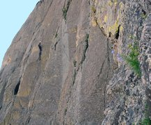 Rock Climbing Photo: Another perspective of the line.
