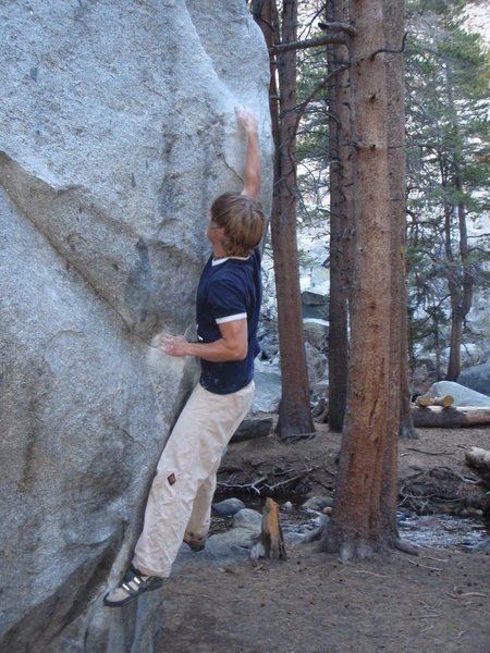 Rock Climbing Photo: Pull Down Like DeJesus (v4)