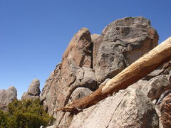 Rock Climbing Photo: Katrina Wall from the northeast.
