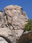 Rock Climbing Photo: The east face of Katrina Wall.