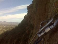 Rock Climbing Photo: belay @ p3
