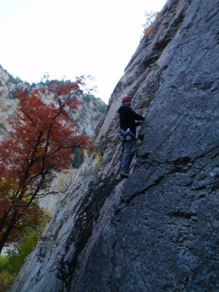 Rock Climbing Photo: Italian Arete