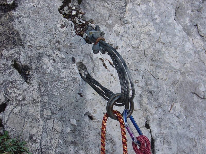 Rock Climbing Photo: On Rappel?