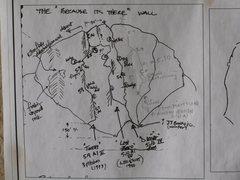Rock Climbing Photo: Route info