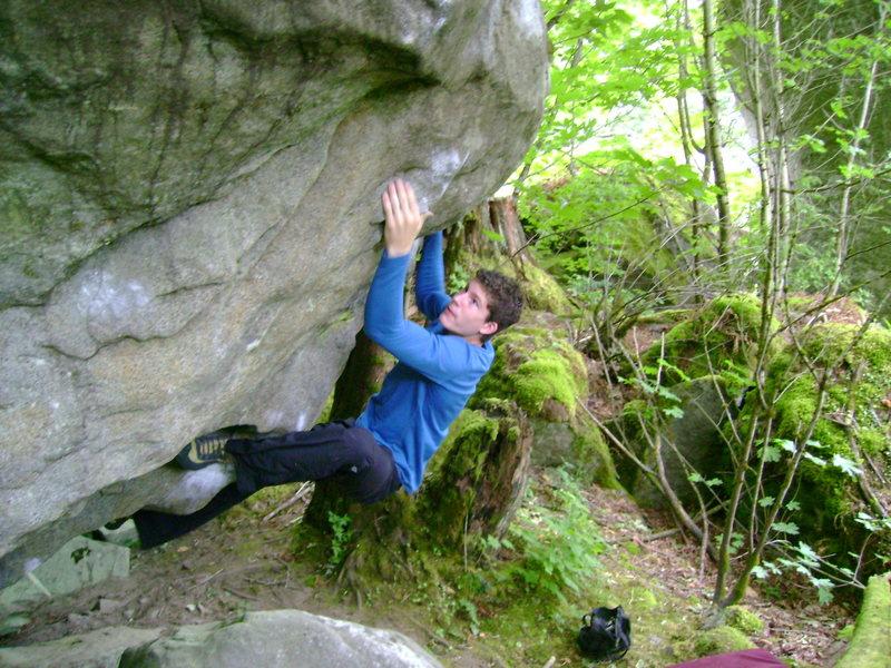 Rock Climbing Photo: Marc-Andre Leclerc on Nautilus