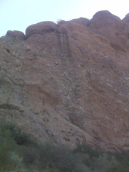 Rock Climbing Photo: AMC members on MK's 3 Star...