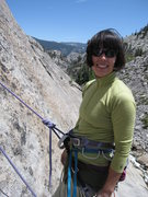 Rock Climbing Photo: At the second belay of A Little Nukey (5.9), Power...