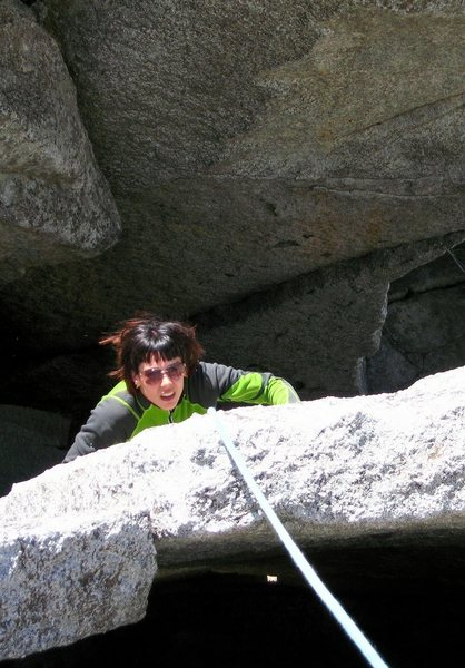 Rock Climbing Photo: Reed's Reegular Route