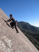 Rock Climbing Photo: Tollhouse Rock, Tollhouse Traverse
