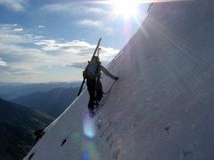 Rock Climbing Photo: Zack Giffin making his way up North Maroon.