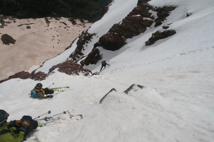Rock Climbing Photo: Another icy chute