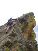 Rock Climbing Photo: Mike June 2009 false summit.