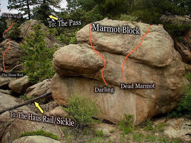 "Rock Climbing Photo: Photo beta for ""Dead Marmot.""  The &quot..."