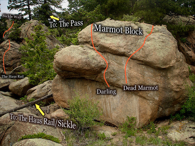 """Photo beta for """"Darling.""""  The """"Elicit Area.""""  Three Sisters Park, Colorado."""