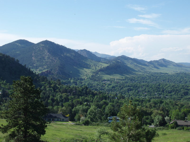 GREEN  Even for Boulder