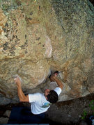 """Rock Climbing Photo: More Said on a power push up """"The Captain.&qu..."""