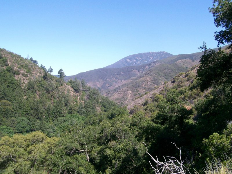 View from the Trabuco/Horsethief trail