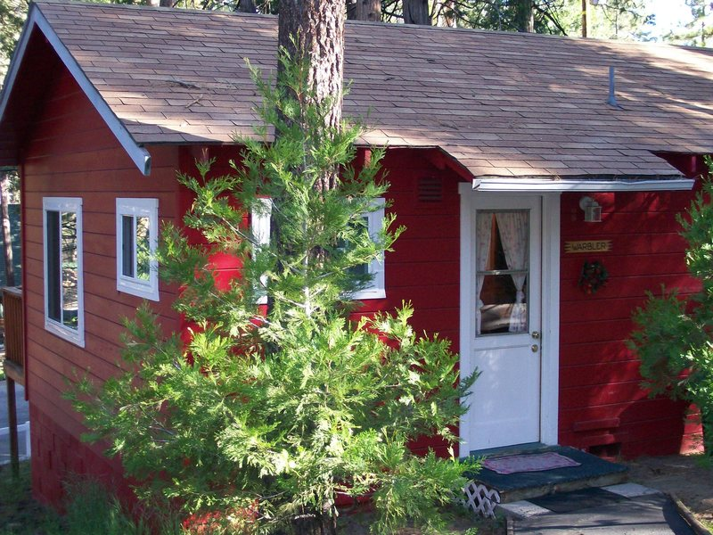 If you're staying in Idyllwild, please allow me to recommend the Fireside Inn.  You might get to stay in the Warbler.  You'll never want to leave the Warbler.  Don't -- try and leave the Warbler.  You won't be happy if you try to leave -- the Warbler.