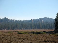 Rock Climbing Photo: Holcomb Valley Pinnacles from 3N16, Big Bear North