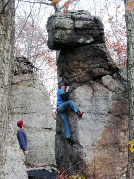 Rock Climbing Photo: great v3