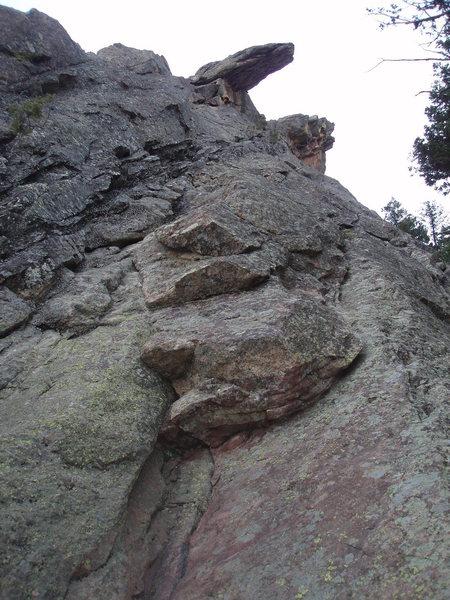 Rock Climbing Photo: NE Arete.