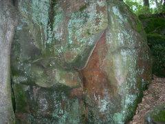 Rock Climbing Photo: Starts in triangle shape somewhere.