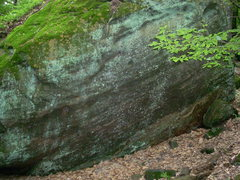 Rock Climbing Photo: Another view of the first boulder you will come to...