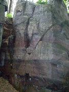 "Rock Climbing Photo: Left face of ""Dadaism""."