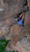 Rock Climbing Photo: Dr. David Daily cruising it...