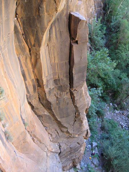 Rock Climbing Photo: A slightly different view...