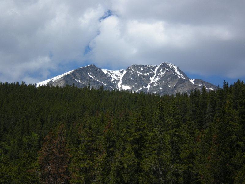 Rock Climbing Photo: Looking up towards Ypsilon.