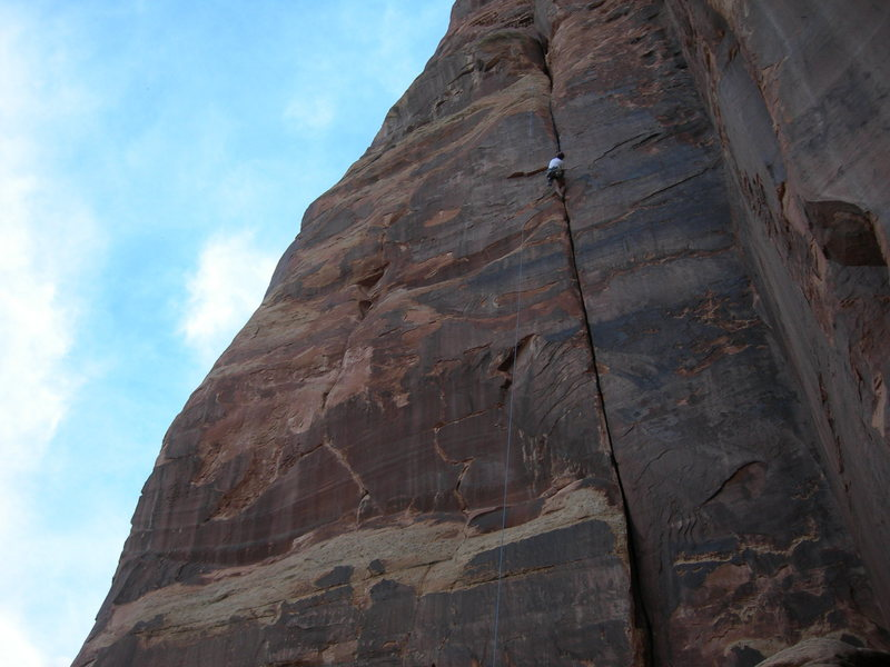 Rock Climbing Photo: John Sasso on 100 Feet of Hands.