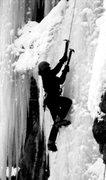 Rock Climbing Photo: Ang, having some fun.