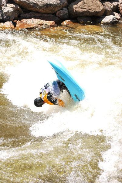 kayak freestyle comp<br> - 2009