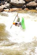 Rock Climbing Photo: more kayak freestyle - 2009