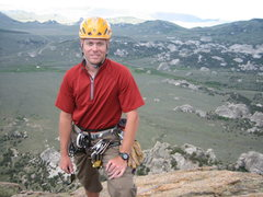 Rock Climbing Photo: Top of Steinfeldt's Dome - COR